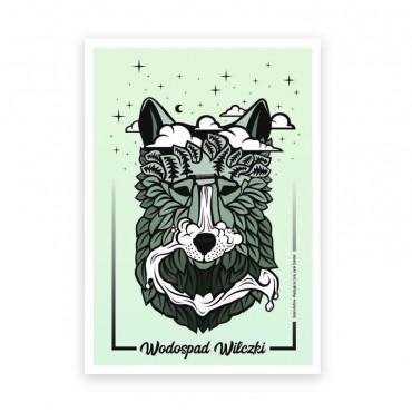 Plakat - Wodospad wilczki