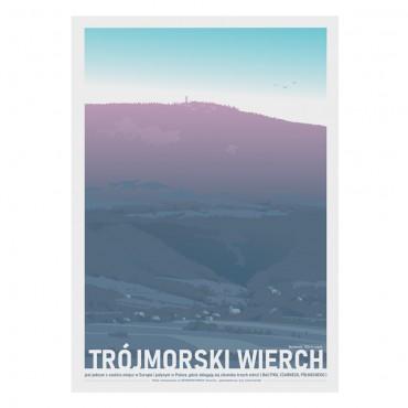 Trójmorski Wierch - Plakat